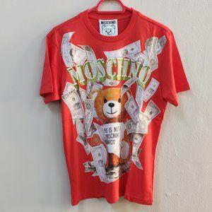 Moschino Richie Bear Red T-Shirt